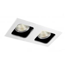 Светильник встраиваемый DL18614/02WW-SQ White/Black