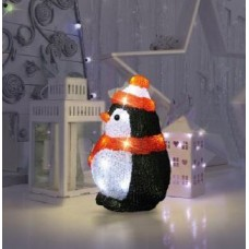 Акриловая светодиодная фигура «Пингвиненок»